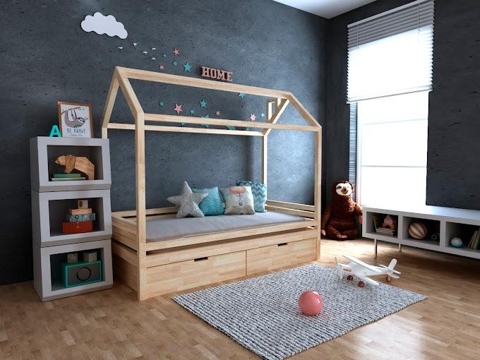 Кровать-домик Китти с ящиками 70х140  ТМ MegaOpt