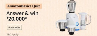 AmazonBasics Quiz Answers
