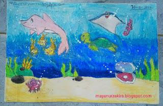Gambar Pemandangan Dalam Laut