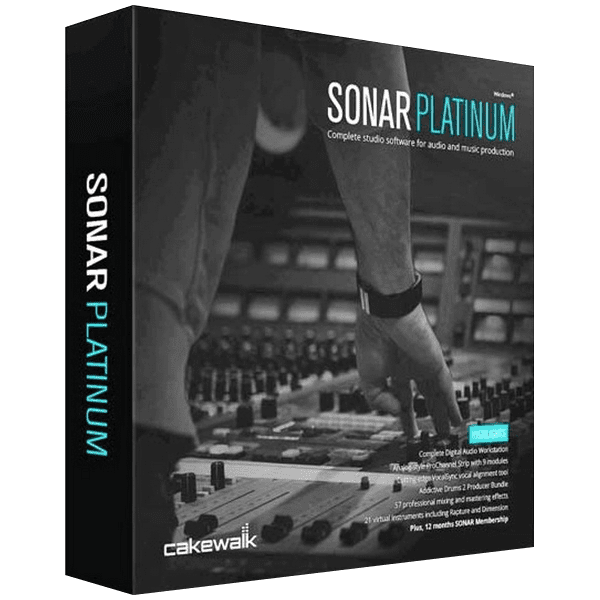 Cakewalk - SONAR Platinum v23.10.0.14 + Contents Full version