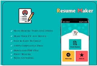 Resume Maker Perfect CV Creator