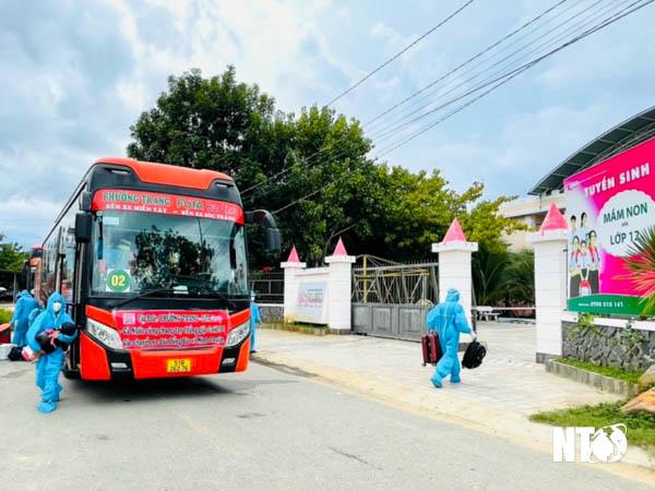 Ninh Thuận: Hạnh phúc ngày trở về quê hương của các công dân