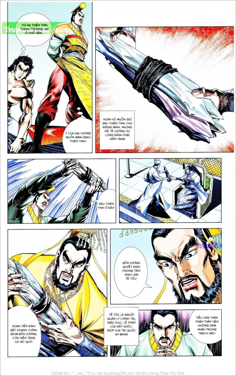 Tần Vương Doanh Chính chapter 24 trang 11