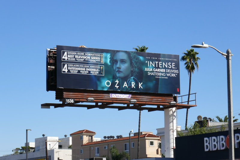 Julia Garner Ozark 2021 nominee billboard