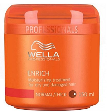 Wella Professional Enrich Moisturizing Treatment for Dry and Damaged Hair