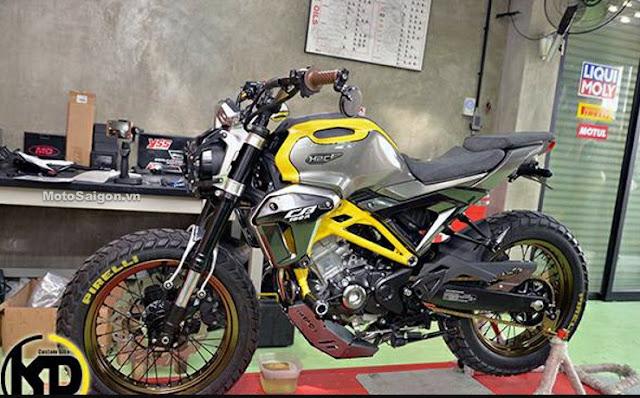 Honda CB150R Exmotion Warna Kuning