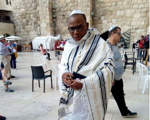 Image result for Nnamdi Kanu to address world press conference tomorrow