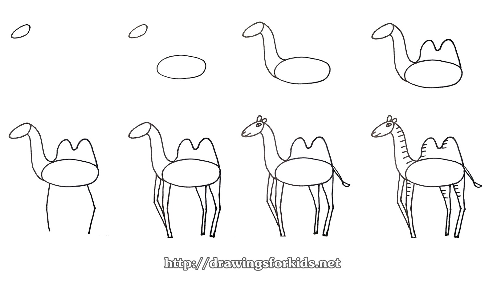 Uncategorized How To Draw A Camel Step By Step how to draw a camel for kids drawingsforkids net video tutorials minh
