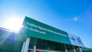 Hospital de Campanha de São Luís de Montes Belos | Foto: Ascom