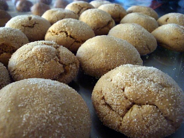 Имбирное печенье кардамон