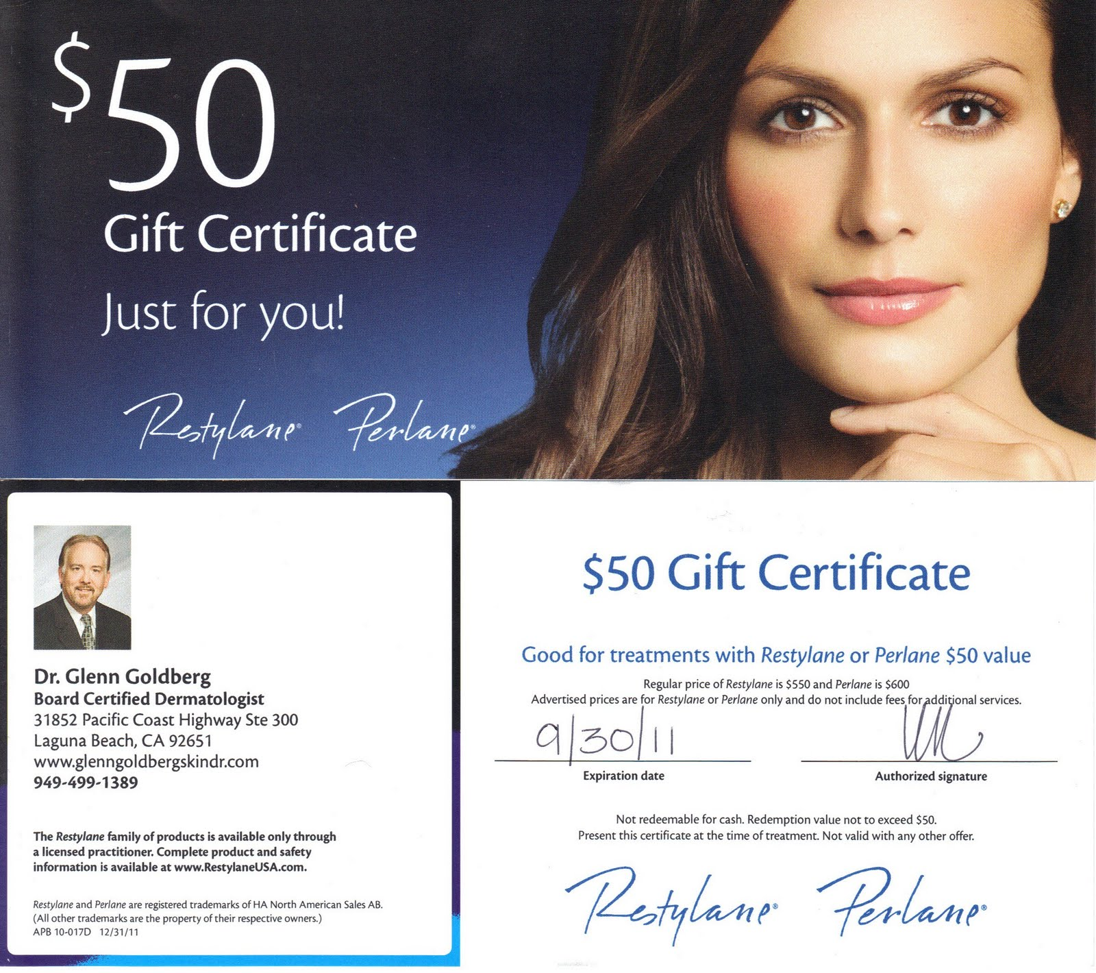 Restylane coupon offers