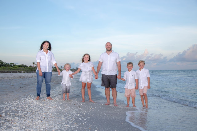 Sanibel Island Family Photography