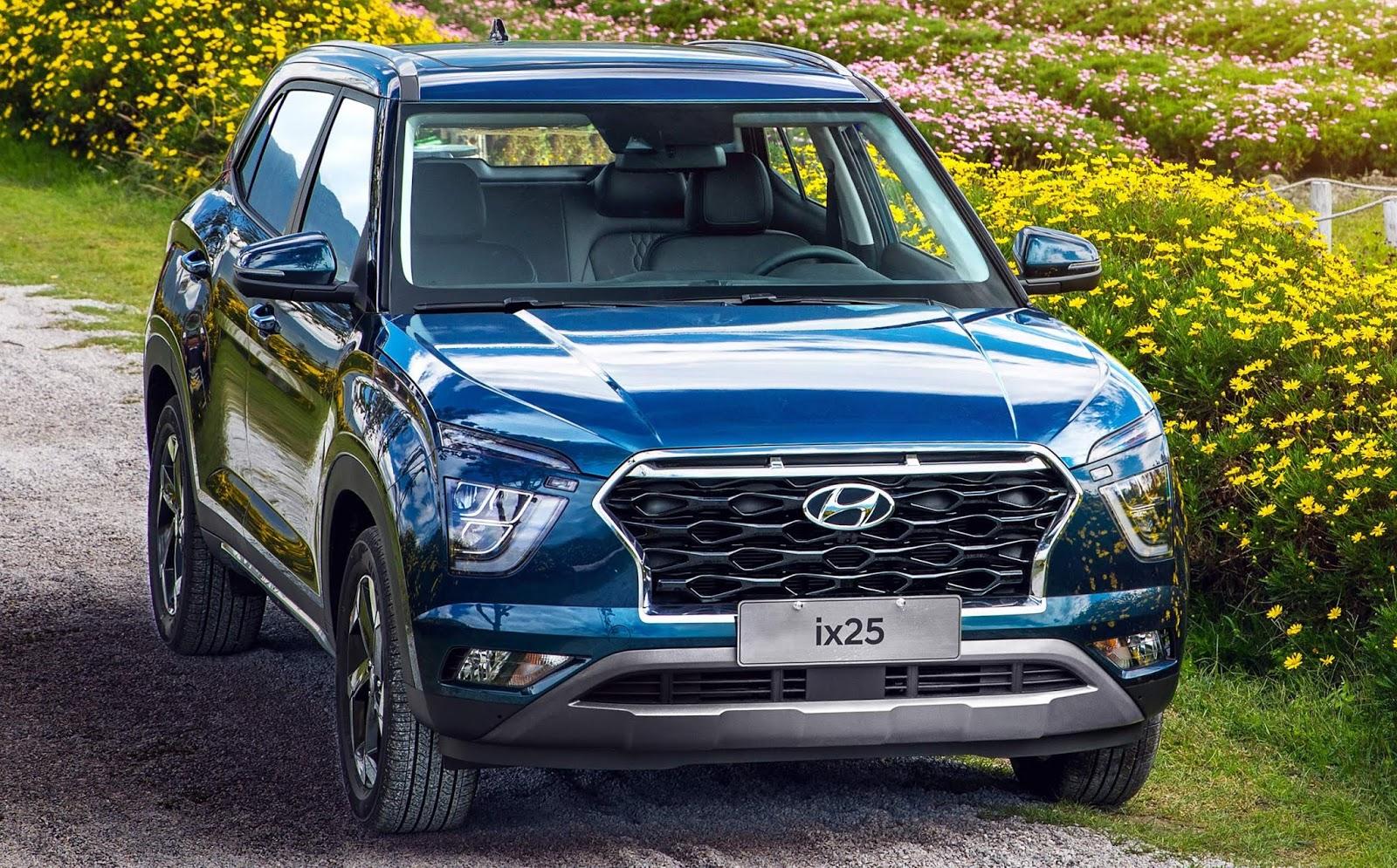 Novo Hyundai Creta 2021: design antecipado pelo Ix25 | CAR ...
