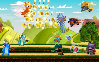 Download Slugs Jetpack Fight World Apk
