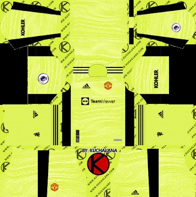 Manchester United 2021-22 Kit - DLS2019