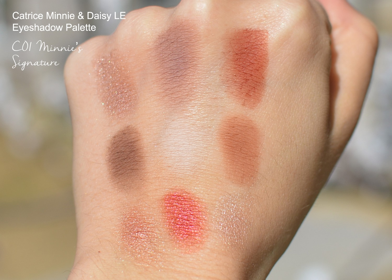 Catrice x Disney Minnie and Daisy LE Eyeshadow Palettes
