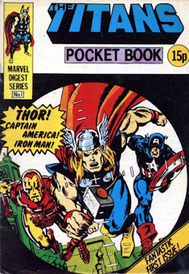 Titans pocket book #1, the Avengers