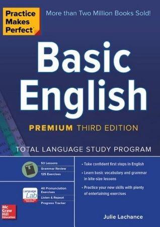 التدريب يجعلك تتقن أساسيات الإنجليزية - كتاب بالإنجليزية