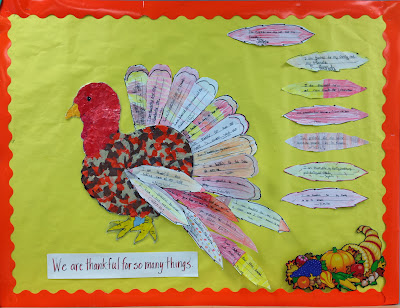 Thanksgiving Class Craftivity
