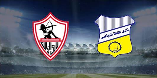 مباراة الزمالك وطنطا بتاريخ 05-01-2020 الدوري المصري