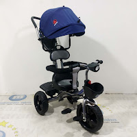 sepeda roda tiga anak exotic et1262 baby tricycle