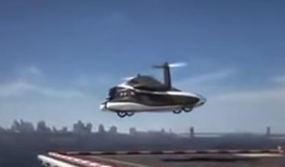 kendaraan masa depan mobil terbang
