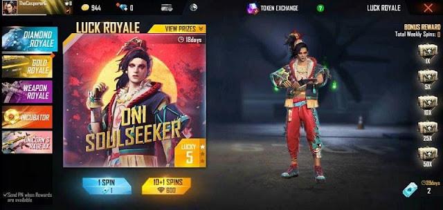 Free Fire Yeni Diamond Royale: Bilmeniz gereken her şey