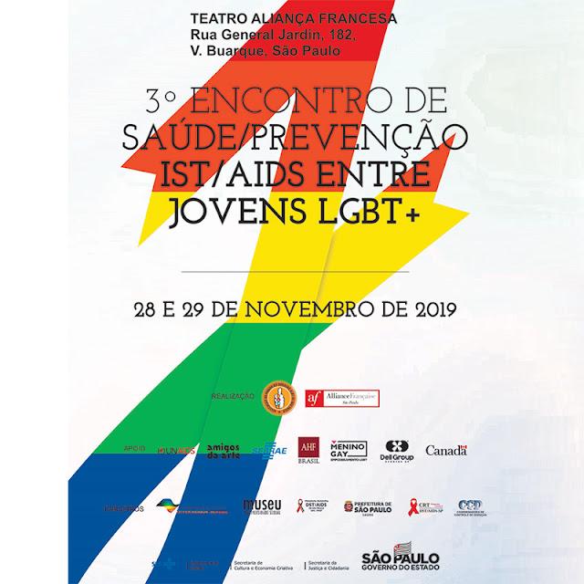 APOGLBT-SP promove o III encontro de saúde/prevenção IST/AIDS entre jovens LGBT+
