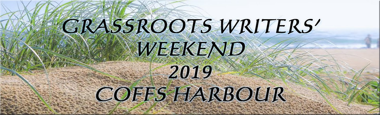 Grassroots Writing Weekend 2019 Coffs Harbour
