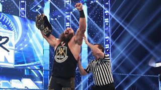 WWE - Braun Strowman conquista el cinturón Intercontinental, su primer título individual