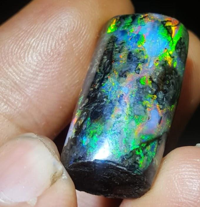 Wood Opal Rainbow