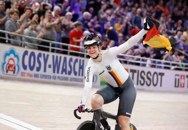 Lea Sophie Friedrich Alemanha Ciclismo keirin
