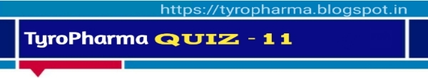 Tyro Pharma Quiz - 11