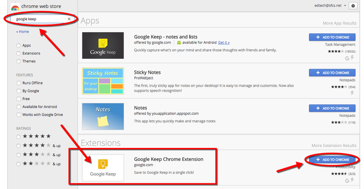 TeachingTechNix: Google Keep Chrome Extension