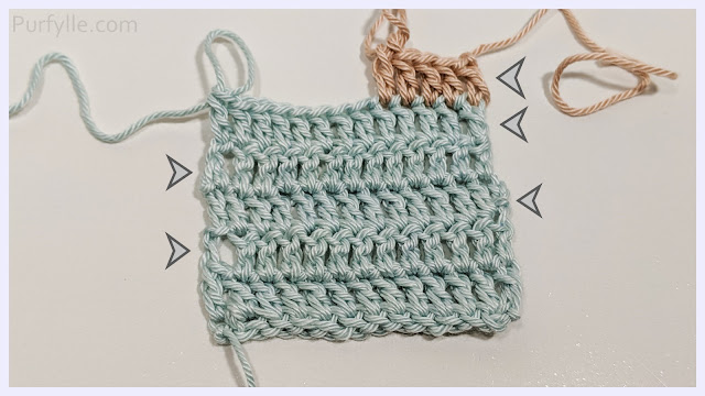 How To Start a A New Crochet Row 5 Ways