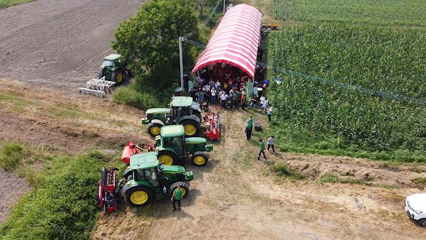 明道有機農場田間觀摩 示範智慧化農業創新科技