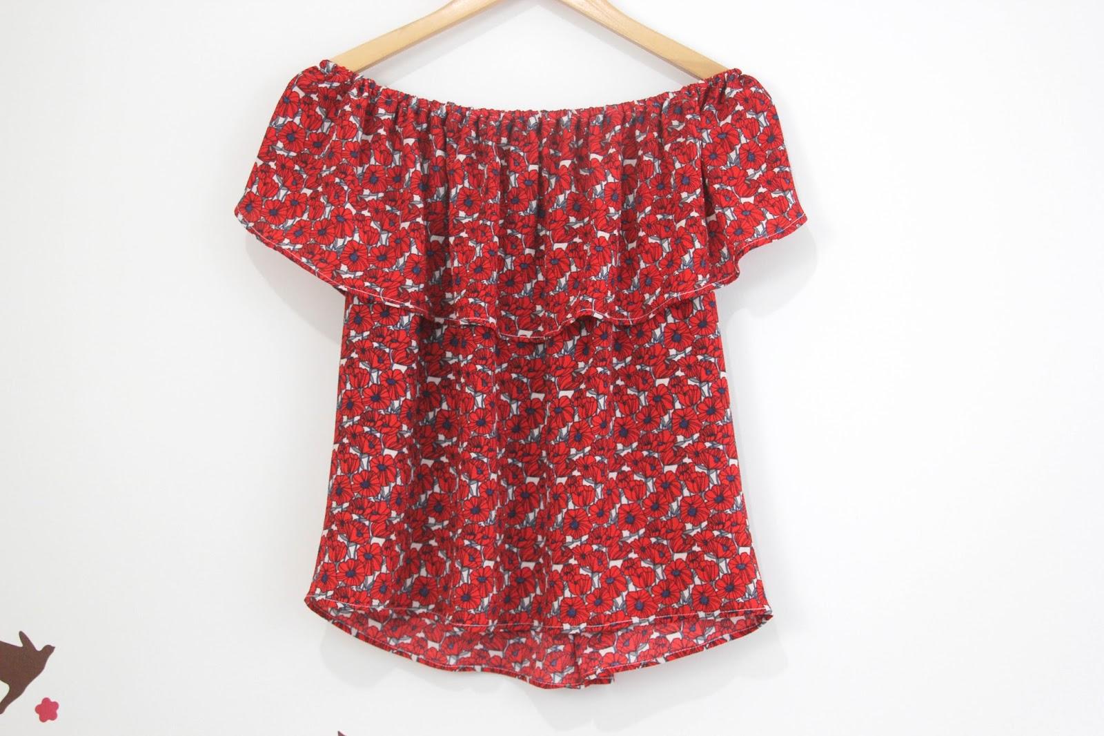diy tutorial y patrones blusa sin hombros oh mother
