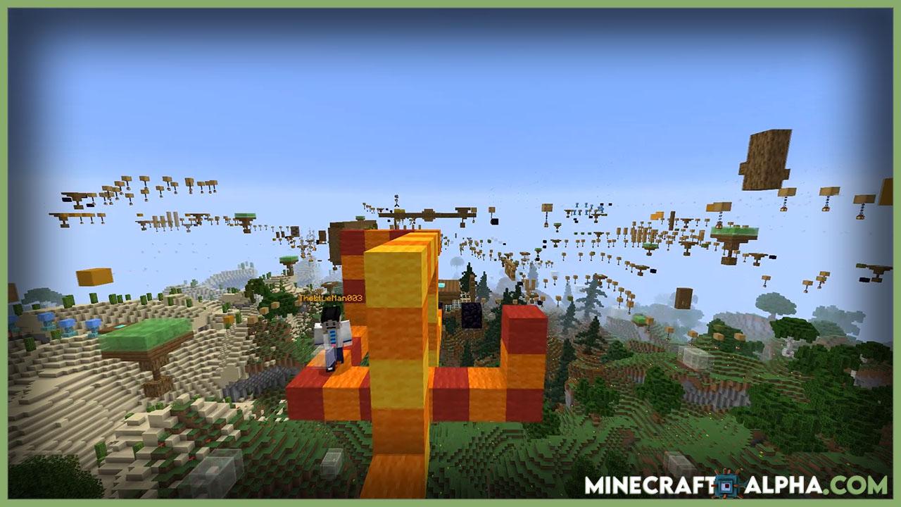 Snake Jump Minecraft Parkour Map