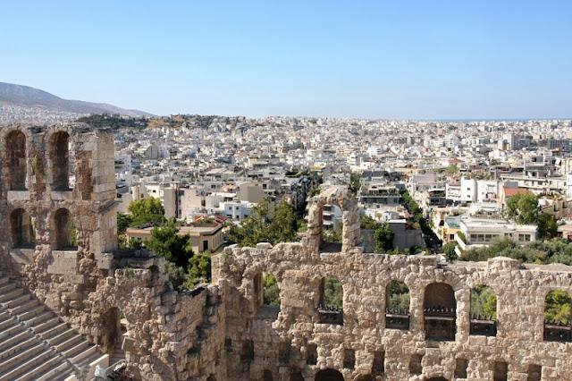 Pontos turísticos em Atenas, Grécia