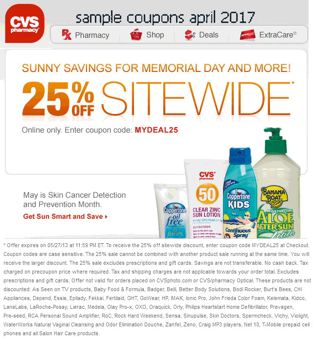 printable coupons 2017  cvs pharmacy coupons