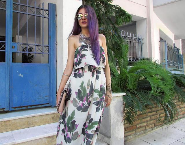 purple hair tumblr