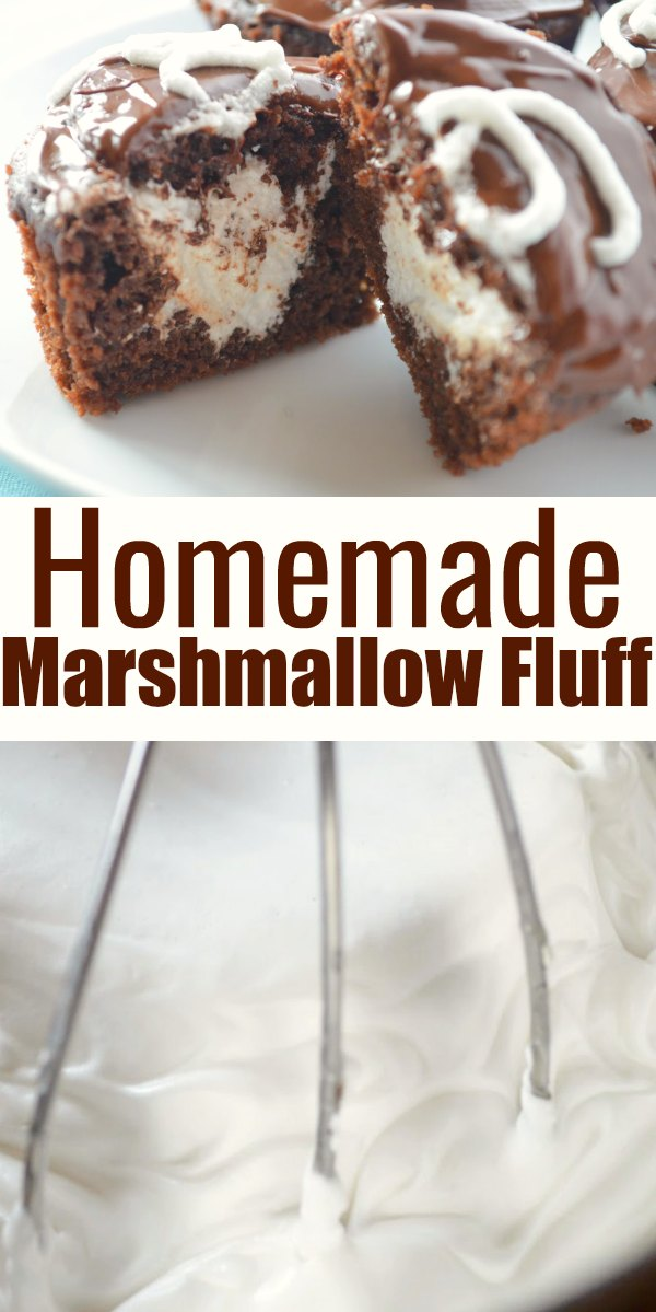 Make your own Marshmallow Fluff for all your favorite recipes. Homemade Marshmallow Fluff with no corn syrup from Serena Bakes Simply From Scratch.