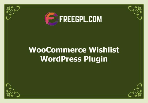 WooCommerce Wishlist Free Download