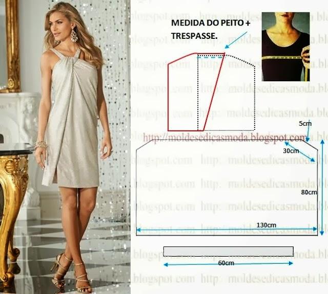 Patrones para coser vestidos de fiesta
