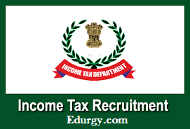 Income tax Recruitment 2021 @incometaxindia.gov.in.