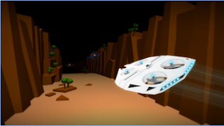 Game Drone Racer : Canyons Apk