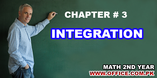ch 3 integration mathematics notes fsc ics fa part ii