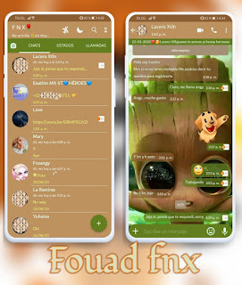 Baby Groot Theme For YOWhatsApp & Fouad WhatsApp By Ave fénix