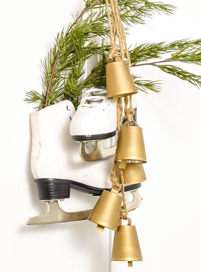DIY vintage inspired brass bells