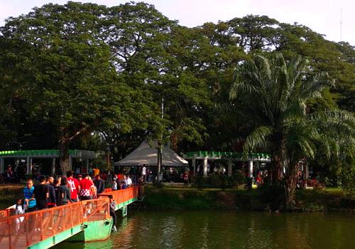 Gambar Taman Kambang Iwak Di Sumatera Selatan